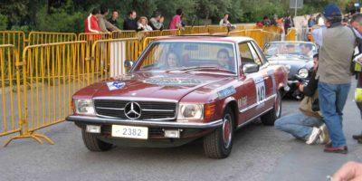 Mercedes Benz SLC 450 (W107) 1976-Test Drive