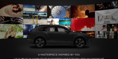 Bentley Inspirator (car configurator app)