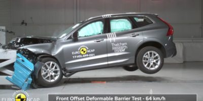 Volvo XC60 – 5 αστέρια στις δοκιμές του Euro ΝCAP 2017