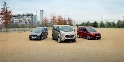 Ford Tourneo στην Έκθεση των Βρυξελλών