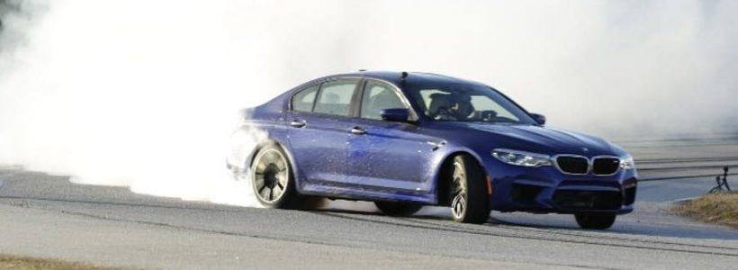 BMW M5: Ρεκόρ Guinness με Drift 374 χιλιομέτρων (+Video!)