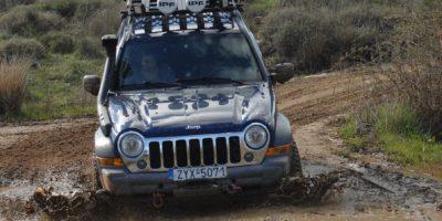 1o Αττικό Regularity Trail Ride 4Χ4