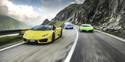 Έξι Lamborghini Huracán στην γη του κόμη Δράκουλα(+Video)