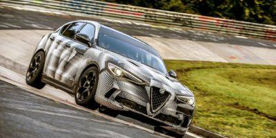Η Alfa Romeo Stelvio Quadrifoglio με χρόνο ρεκόρ στο Nürburgring (Video)