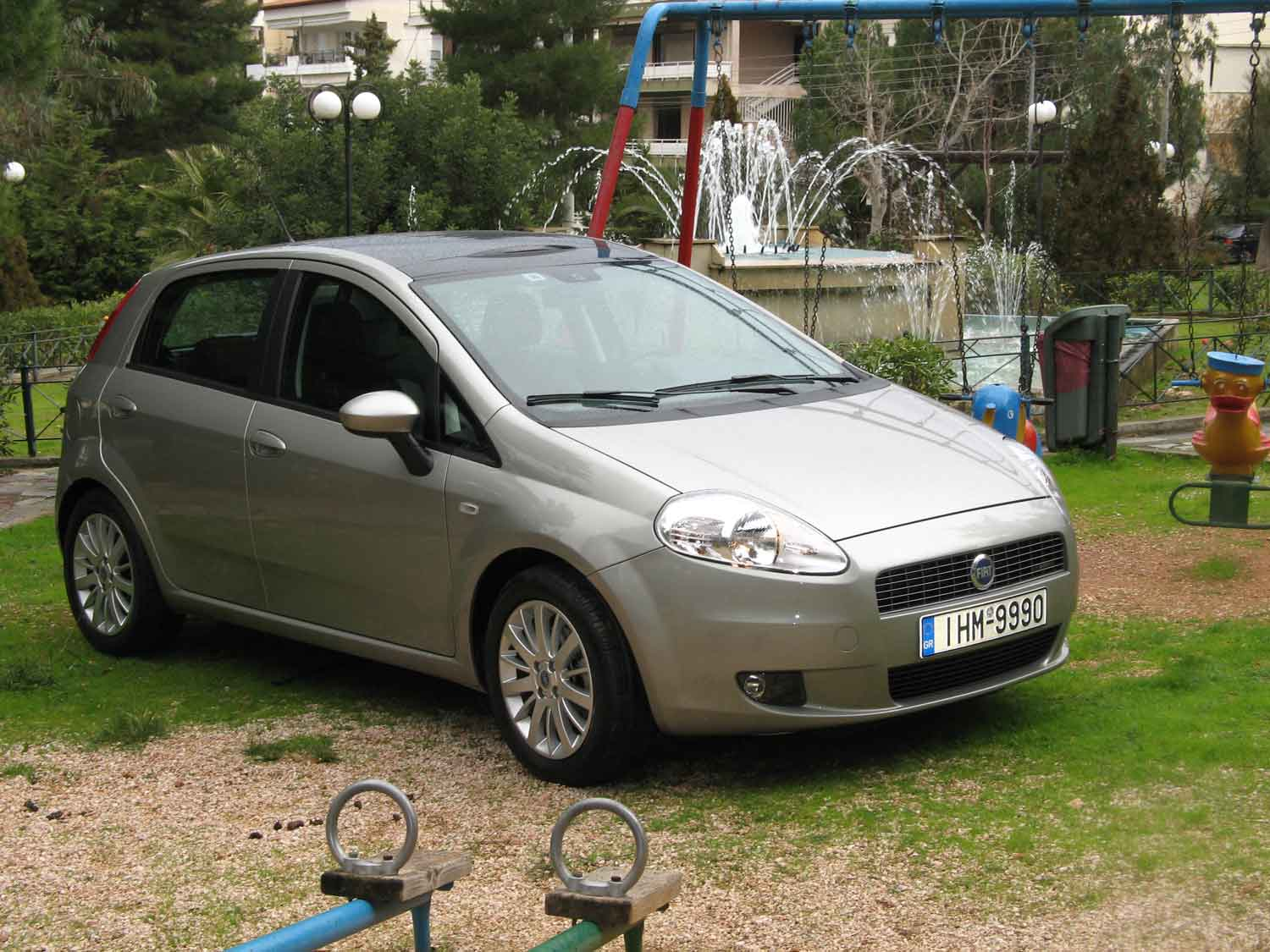 t fiat grande punto 1 4 t j test drive my2008 autoholix. Black Bedroom Furniture Sets. Home Design Ideas