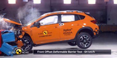 5 αστέρια για τα νέα Subaru XV και Impreza από το Euro NCAP 2017