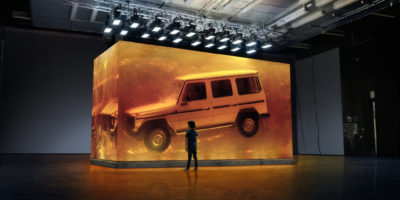 Mercedes G-Class – Jurassic (VIDEO)