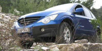 Ssangyong Actyon 2.3-Test Drive