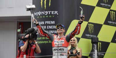 Ducati και Χόρχε Λορένθο στην 1η θέση του Καταλανικού GP