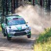 Ιδιώτες με SKODA Fabia R5 νικητές στη WRC2 του Ράλλυ Φινλανδίας