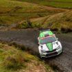 Η SKODA Fabia R5 θριαμβεύει στην WRC 2 και στα δάση της Ουαλίας