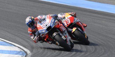 Στο βάθρο των νικητών Ντοβιτσιόζο και Ducati στο GP Ταϊλάνδης