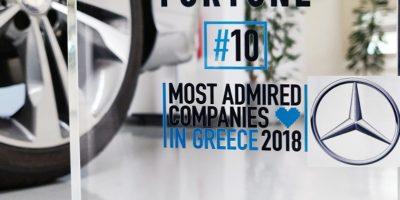 Η Mercedes-Benz Ελλάς στo Top 20 «Most Admired Companies»