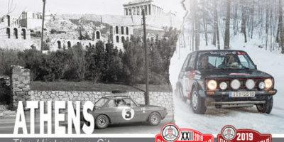 Rallye Monte Carlo Historique ATHENS 2019 (Video)