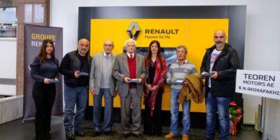 Παράδοση των 5 Renault CLIO στους πυροπαθείς στο Μάτι Αττικής
