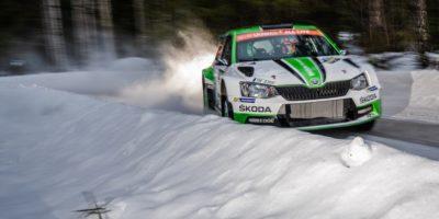 Ταχύτατη η SKODA Fabia R5 και στο Ράλι Σουηδίας