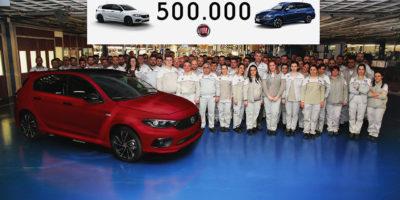 To Fiat Tipo ξεπερνά το ορόσημο των 500.000 μονάδων
