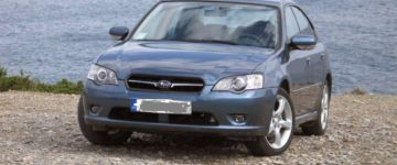 Subaru Legacy 2,0 ΜΥ2008 – Veteran Car Test Drive