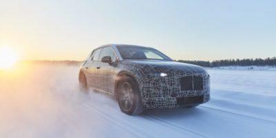 Χειμερινές δοκιμές για το BMW iNEXT στον πολικό κύκλο