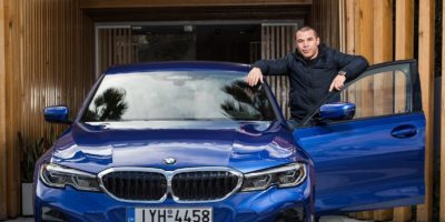 H BMW στηρίζει τη μεγάλη επιστροφή του Μιχάλη Ζαμπίδη