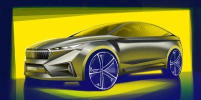 VISION iV: πρώτα σκίτσα του ηλεκτρικού concept της SKODA