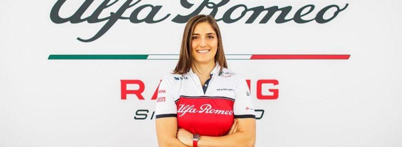 Η Alfa Romeo Racing συνεχίζει τη συνεργασία της με την Tatiana Calderón και το 2019