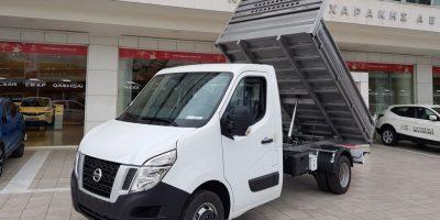 Φορτηγό NV400 με ανατρεπόμενη καρότσα φόρτωσης