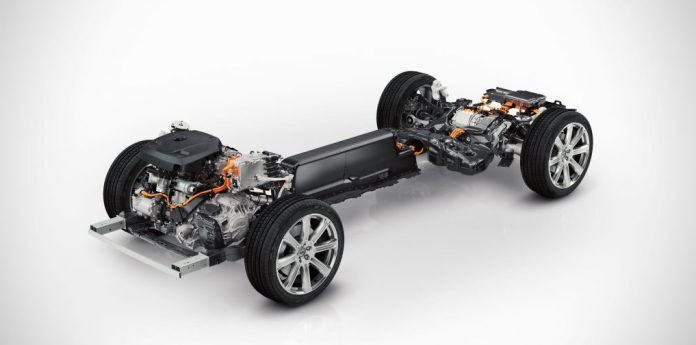 Volvo XC90 Twin Engine powertrain