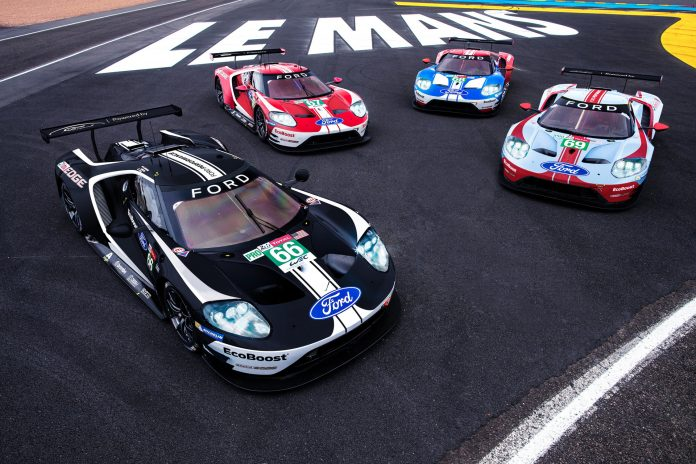 Ford cars LeMans 2019 010