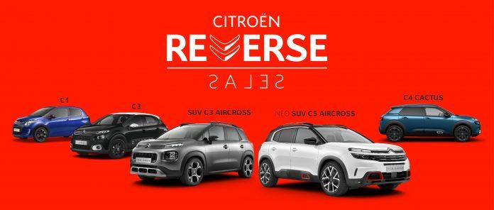 Citroen Reverse Sales