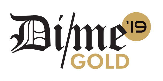 Dime Awards 19 Stickers_GOLD