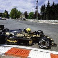 Ayrton Senna Lotus 98T Renault 1