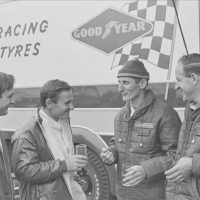 Chris Amon, Bruce McLaren, Ken Miles and Denny Hulme, LeMans 1966