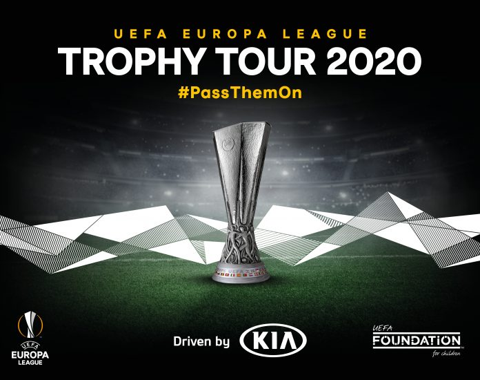UEFA Europa League Trophy Kia